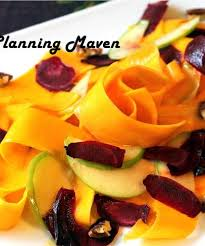ernut squash ribbon salad with
