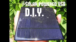 solar powered 5v 1a usb part 1