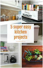 Easy Kitchen Remodelaholic 5 Super Easy Kitchen Projects Friday Features