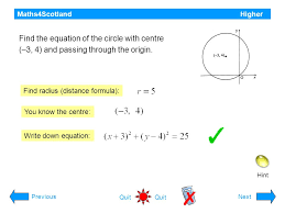 3 maths4scotland higher the circle the following questions are on non calculator questions will be indicated to continue you will need a pencil