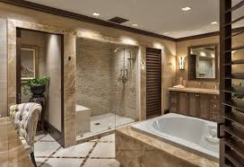 this luxurious bathroom again features a jacuzzi tub and beautiful accentwalled shower area design gallery b30
