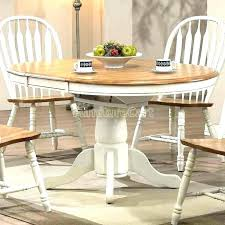 oak and white dining table white and oak dining set furniture white oak dining table coastal