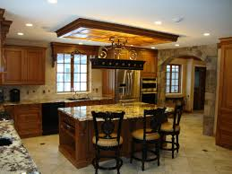 Pull Down Lights Kitchen Kitchen Beautiful Custom Glazed Kitchen Cabinets Design Ideas