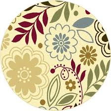 round beige rug small round rugs beige 5 ft 3 in contemporary area rug photo round beige rug