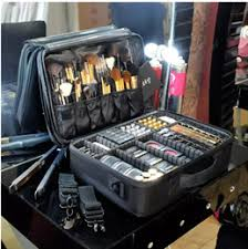 makeup trunks ping new high quality professional empty makeup organizer bolso mujer cosmetic case