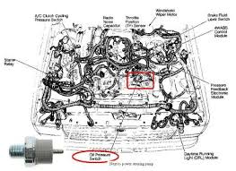 where is the oil pressure switch located attached image