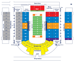 Illinois Seating Chart Football Illinois Fighting Illini 2016 Football Schedule