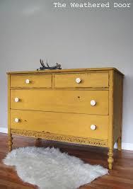 mustard yellow furniture. a chippy mustard yellow dresser furniture r