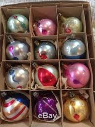 Hand Decorated Christmas Balls Mercury Glass Poland Hand Painted Christmas Ornaments Lot Of 100 100 47