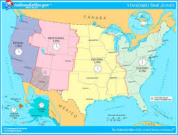 Military Time To Standard Time Chart What Are The Time Zones In The United States Military