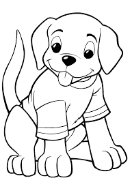 Small Picture Puppy Coloring Pages Coloring Pages
