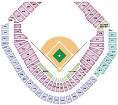 Detroit Tigers Seating Chart Tigersseatingchart Com