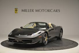 The 458 replaced the f430. Pre Owned 2014 Ferrari 458 Spider For Sale Special Pricing Aston Martin Of Greenwich Stock 4542