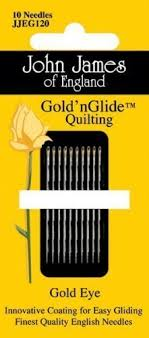 Amazon.com: John James Gold'n Glide Quilting Needles-Size 9 & John James Gold'n Glide Quilting Needles-Size 9 Adamdwight.com