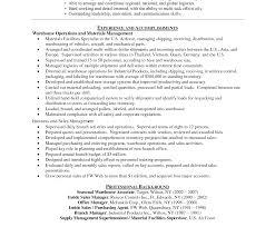 Assistant Warehouse Manager Job Description Sample Resume Warehouse Manager Easy Free For Assistant Templates