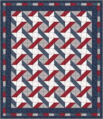 QUILT PATTERN - Stars & Stripes by Laura's Quilt Lakeside Start w ... & QUILT PATTERN - Stars & Stripes by Laura's Quilt Lakeside Start w/ 5