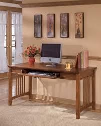 large home office desk. Cross Island - Medium Brown Home Office Large Leg Desk