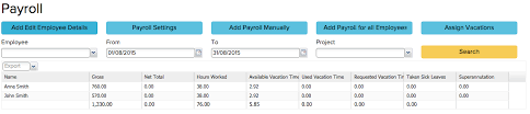 Payroll Calculation In Erply Books Accounting Software