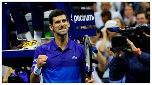 Tennis: Djokovic delivers in time to ...