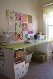 craft room furniture michaels. i love the bulletin board squares on wall table made up of michaelu0027s scrapbooking cubes door top like desk for play roomcraft room den craft furniture michaels g
