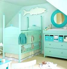 contemporary ocean themed crib bedding underwater themed nursery ocean decor ideas beach themed nursery decor under the sea baby bedroom decorating girl