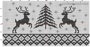 Stitching Patterns Interesting Deer Tree Christmas Stitching Pattern NeedlenThread