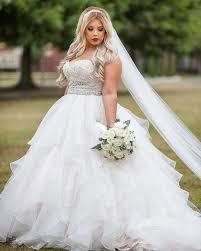 Plus Size Wedding Gown Designers Strapless Empire Waist Plus Size Wedding Gowns Plus Size