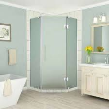 home depot canada corner showers round frosted shower doors the bathrooms engaging compreed agreeable