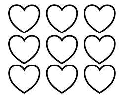 Valentijnsdag Blanco Hartjes Kleurplaat Gratis Kleurplaten Printen