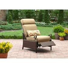 Garden Recliner With Classic Cushion And Green FrameLuxury Recliner Chair Cushions