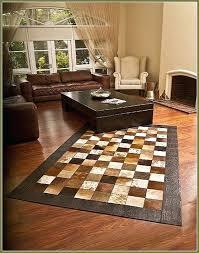 cowhide patchwork rug rugs