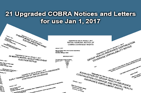 Download Cobra Notices Sample Letters As Word Pdf
