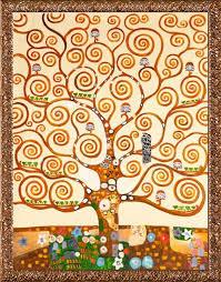 gustav klimt tree of life hand painted reion oil painting