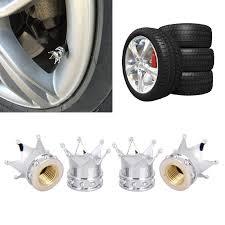 Valve Caps & Stems <b>4Pcs Car</b> Truck Motorcycle Bike <b>Wheel Tire</b> ...
