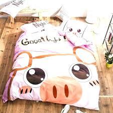pink twin bedding set light pink twin bedding pink bedding sets twin cotton pink pig cartoon