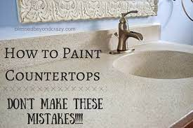 How To Paint A Countertop Don T Make These Mistakes Blessed Beyond Crazy