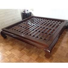 Super King Size Mahogany Bed Frame