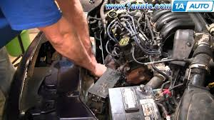 how to install replace radiator engine cooling fan ford 96 07 how to install replace radiator engine cooling fan ford 96 07 taurus 1aauto com