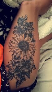 Women S Thigh Tattoos Designs Thigh Floral Tattoo Tattoos Thigh Piece Tattoos Flower