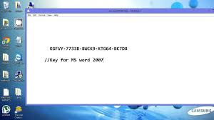 Microsoft Word For Free 2007 Product Key For Ms Word 2007 Works 200 Youtube