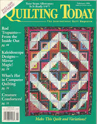 Quilting Today The International Quilt Magazine - February 1994 ... & Quilting Today The International Quilt Magazine - February 1994 - Issue No.  40 Adamdwight.com