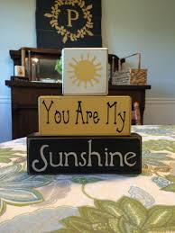 sunshine baby nursery décor you are my sunshine baby nursery wood sign