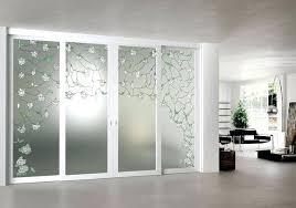 etched glass door panels ideas for double sliding doors etching designs shower best acid