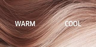 close up of blonde hair going from warm to cool treated with opal