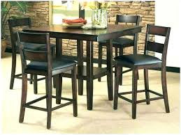 tall dining room tables amazing of tall breakfast table set vibrant dining black dining room tables