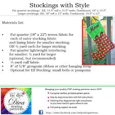 Christmas Stocking Pattern With Cuff Beauteous Christmas Stocking Pattern Elf And Traditional Styles Tie Dye