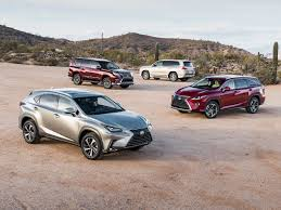 Lexus Suv Size Chart Lexus Suv Models Prices And Changes For 2018 And A Peek