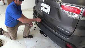 installation of a trailer wiring harness on a 2015 toyota Toyota Highlander Oem Trailer Hitch Wiring installation of a trailer wiring harness on a 2015 toyota highlander etrailer com 2015 Toyota Highlander OEM Hitch