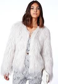 grey faux fur coat gy faux fur coat grey grey faux fur coat river island zara