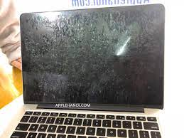 thay lớp chống lóa macbook, macbook pro retina screen coating damage